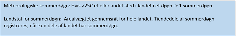 Fakta for sommerdøgn
