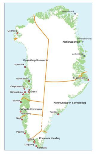 Fremtidige Klimaforandringer I Gronland